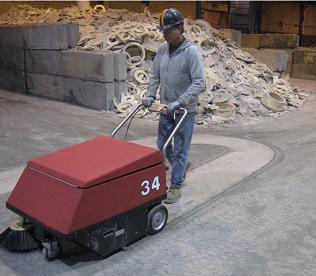 美國CAT-34超級控塵掃地機