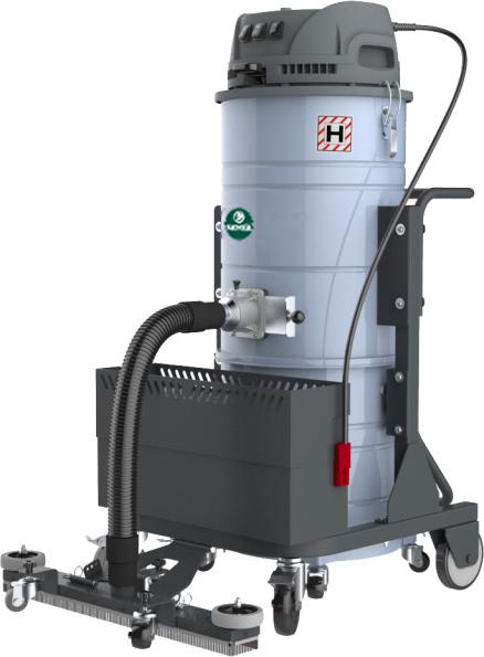 克麥爾P3B直流充電式工業吸塵器