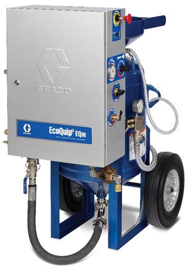 EQM中型移動式濕硼砂機