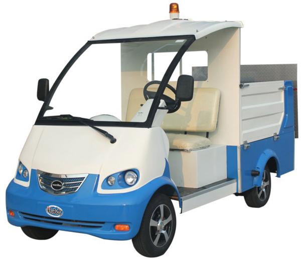 瑪西爾DT0.8-B1電動4桶駁運車